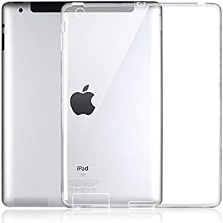 Apple iPad 2/3/4 TPU Silicone Clear Case Back Cover By Muzz