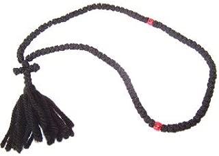 Knotted wool chotki Rosary - Komvoschinia (100 Knots 17
