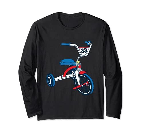 Kinder Dreirad BMX Oldschool Biker BMX Kinder Langarmshirt
