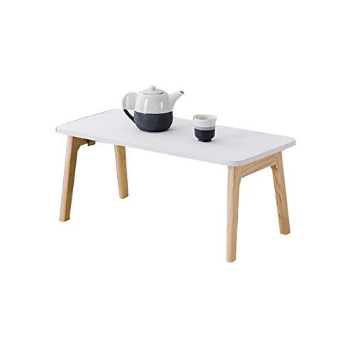 Laptop Trolly bord, lätt att sätta ihop trä hopfällbara bord sjukhus säng matbord student sovsal rum sminkbord (färg: #2, Storlek: 60 x 40 x 25 cm)