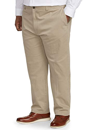 Amazon Essentials Men s Big & Tall Relaxed-fit Casual Stretch Khaki Pant fit by DXL, 44W x 28L