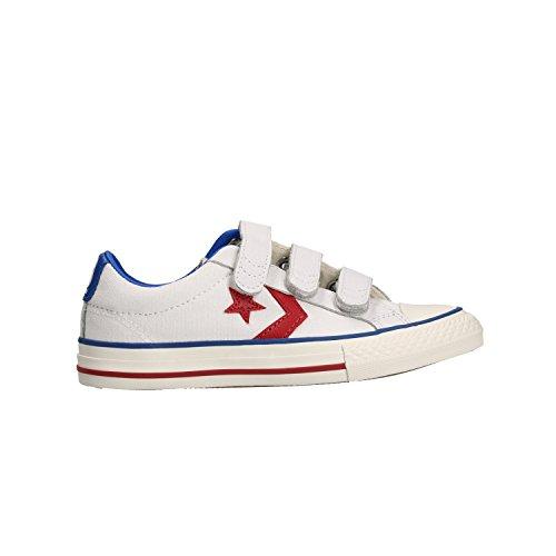 Converse Star Player EV Ox Bianco Sneakers Basse Scarpe Bambino 360999C 35