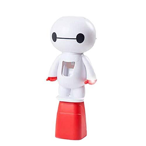 PENG Cartoon Minion Automatischer Zahnpastaspender Zahnbürstenhalter Produkte Kreatives Badzubehör Zahnpasta-Quetscher, Hellgrau