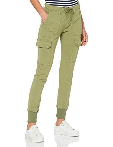 Pepe Jeans Crusade Pantalones, Verde (Olive 728), 24W / Long para Mujer