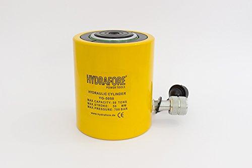 HYDRAFORE Einzelwirkender Hydraulikzylinder (50 Ton 50 mm)