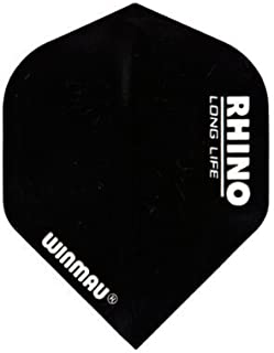 Winmau Rhino Long Life Standard Extra Thick Dart Flights (3 Sets of 3-9 Flights)