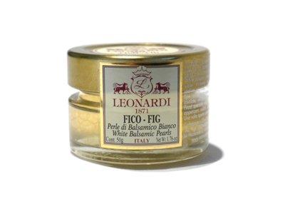 イチジクの香りの 白バルサミコ パール 50g Balsamic pearls レオナルディ