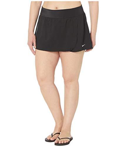 Nike Plus Size Essential Swim Boardskirt Black 1X