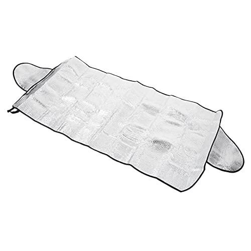 Hapivida Cubierta de Nieve para Parabrisas Protector de Parabrisas de Invierno Ultra Grueso para Automóviles en Todo Tipo de Clima Verano E Invierno 143 × 69 cm para Automóviles SUV