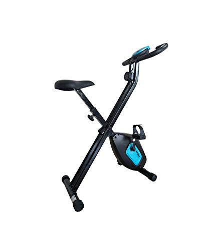 CARE FITNESS Bicicleta Plegable SV 316 Adultos Unisex, Azul, 107,5