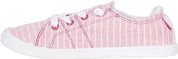Roxy Kids Bayshore IV Slip On Sneakers 3 Pink