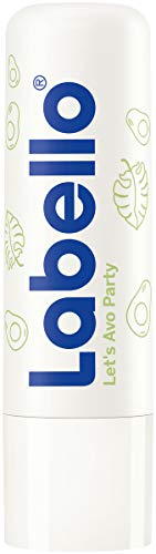 Labello Let´s Avo Party Limited Edition im 1er Pack (1 x 5,5g) – Lippenpflegestift mit Avocado Öl – schützende Lippenpflege mit LSF 15