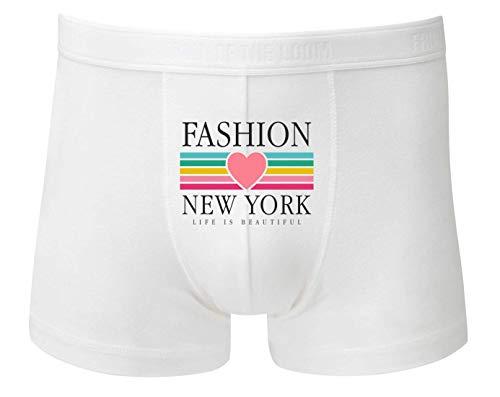 Boxershort - Fashion New York Retro - Unterhose für Herren und Männer