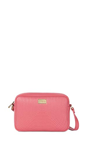 Trussardi Jeans CAMERA BAG QUILTED FRIDA FUXIA