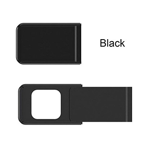 NA Camera Protective Cover Privacy Protection Webcam Cover Prevent Hacker Snooping Universal Application Square black