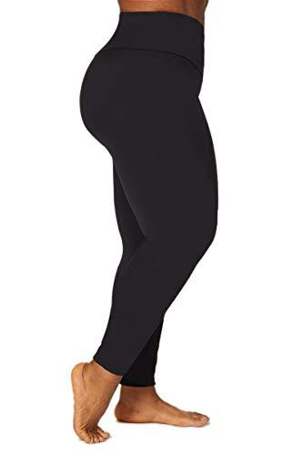 TLC Sport Curve Leggings amincissant gainant et gainant pour femme Collants taille slim avec soutien du dos et des jambes Parfait pour la gym et le quotidien 100% opaque Noir - Noir - 42