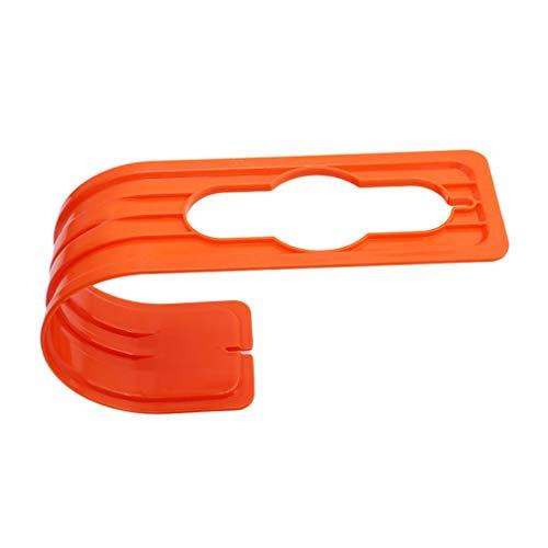 #N/A Growrak - Soporte de tubo de plástico para colgar tuberías de agua, color naranja