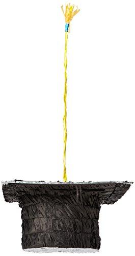 amscan P12980 Piñata Chapeau de Remise de diplôme Multicolore