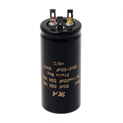 Bogji - Condensatori elettrolitici audio doppio 100 + 100uf, 50 + 50uf, 32 + 32uf, 500V
