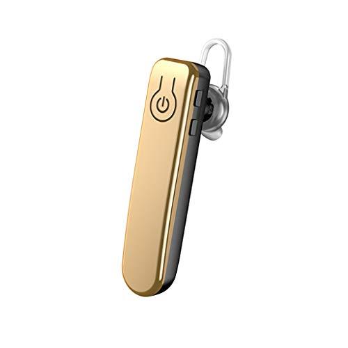 Bluetooth KopfhöRer Sport, J31 LQIAN Sport KopfhöRer, Rich Bass / Bluetooth 5.0, Knochenleitung Im Ohr Sport KopfhöRer Joggen / Laufen / Fitness, KopfhöRer Mit Mikrofon (Gold)