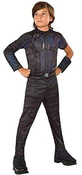 Rubie s Costume Captain America  Civil War Hawkeye Value Child Costume Medium Black