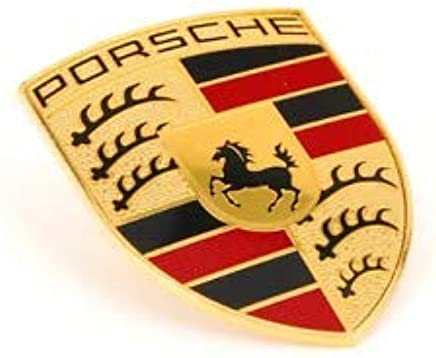 Porsche Armoiries Autocollantes Crest Stuttgart dans la Tradition du Design Original