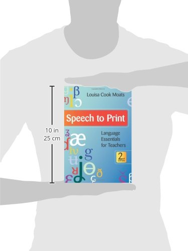 Speech to Print (Language Essentials for Teachers, Second Edition)