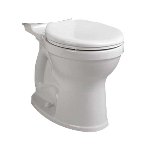 American Standard 3395B001.020 Champion-4 HET Right Height Round Front Toilet Bowl, White