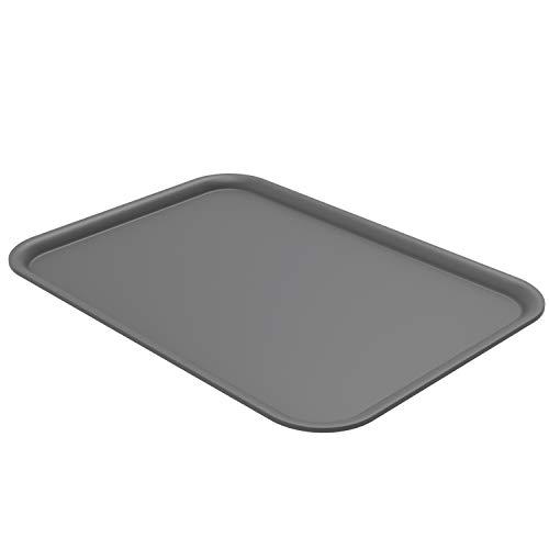 Rotho Brisen Deckel für Aufbewahrungsbox 16l, Kunststoff (PP) BPA-frei, anthrazit, (36,5 x 26,8 x 1,2 cm)