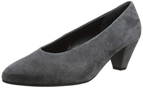 Gabor Damen Fashion Pumps, Grau (Dark-Grey 19), 38 EU