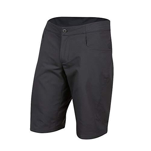 PEARL IZUMI Men's Canyon Shell Short, Black, 34