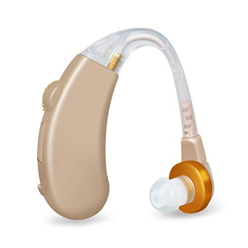 Y-Rachael Dietro L'orecchio Apparecchi Acustici Amplificatore Audio Riduzione Intelligente del Rumore Digitale Duale per Gli Anziani Anti-Caduta E Di Lunga Durata,1 pcs