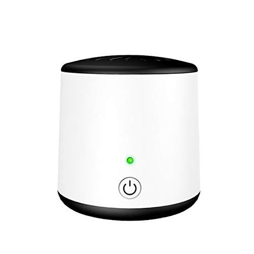 HUANGCHAO Generador de ozono purificador de aire del coche refrigerador desodorante máquina de ozono limpiador de aire eliminador de olores O3 generador habitación desodorizador