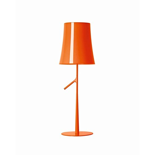 Foscarini–Lampe Tisch Foscarini Birdie klein dimmbar–Orange