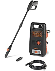 Black and Decker Pressure Washer with Accessories, Multi Color, 100 Bar, 1300 W, BXPW1300E-B5