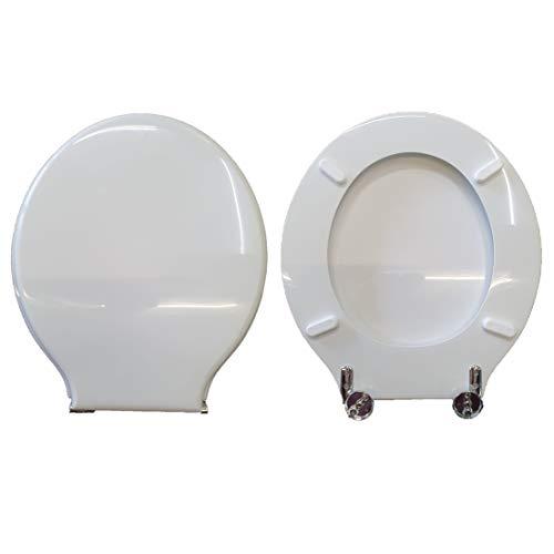 Copriwater BONSAI SOSPESO GLOBO compatibile laccato bianco lucido poliestere