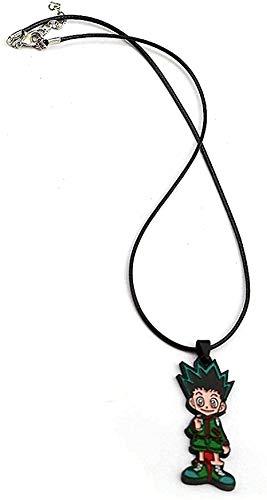 ZGYFJCH Co.,ltd Halskette Trendy Halskette Metallfiguren Anhänger Halsketten Anhänger Halskette Geschenk für Männer Frauen Mädchen Jungen
