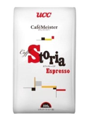 UCC エスプレッソコーヒー(豆) 500g カフェストーリア 業務用