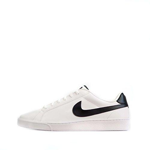 Nike-kurz Majestic Leather 574236-Herren-Schuhe Weiß/Schwarz 44