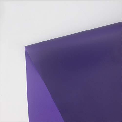 Zhou-WD Transparante inpakpapier, een verscheidenheid van stijlen, Lavender Bouquet inpakpapier grens patroon Solid Color Design 58 * 58 Cm origami (Color : J, Size : 58 * 58CM)