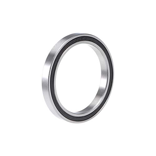 uxcell 6809-2RS Deep Groove Ball Bearing 45x58x7mm Double Sealed Chrome Steel Bearings