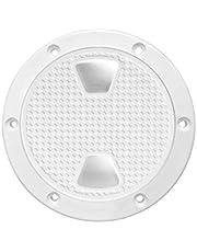 DHM-Marine accessories Duradera Barco Ronda no ficha de inspección Hatch w/Cubierta Desmontable Fácil de Instalar