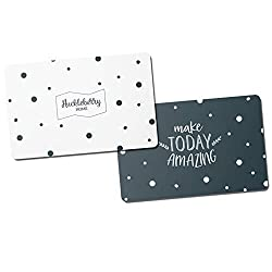 Huckleberry Home® Premium RFID Blocker Cards - NFC protection credit card - Protection card for wallets - With innovative jammer technology - 2 cards - 0,8 mm thin