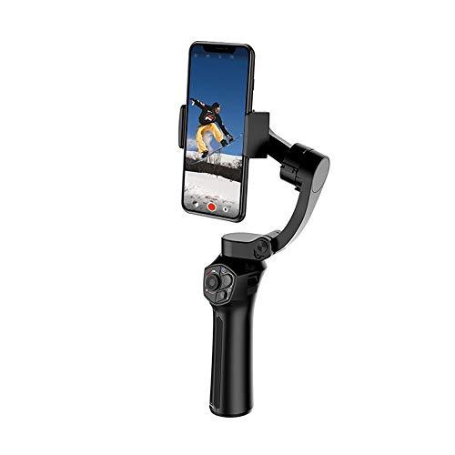 Gimbal de mano de 3 ejes, estabilizador de cardán plegable para iPhone X Huawei P30 Hero 7, Youtube Vlog video, seguimiento facial, gesto y zoom