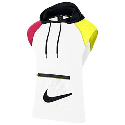 Nike Sleeveless Hooded Fleece Pullover CJ4746-100 Size L