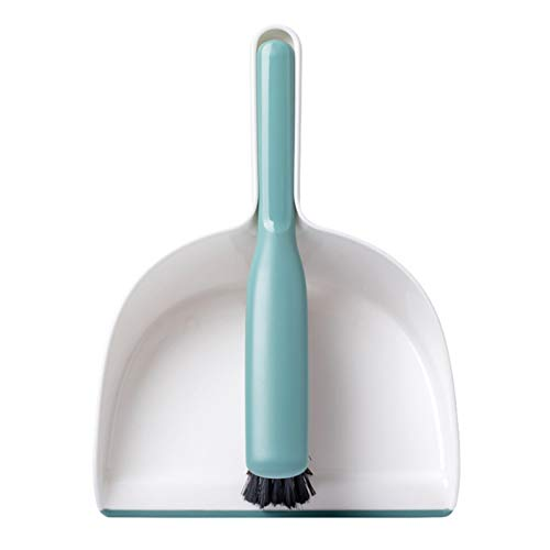YLiansong-home Juego de Recogedor y Cepillo 2pcs Hogar Scoor y Dustpan Set Broom Combinación Broom Broom para Casa (Color : White, Size : One Size)