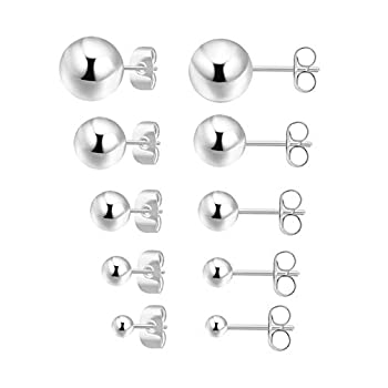 Best sterling silver ball earring Reviews