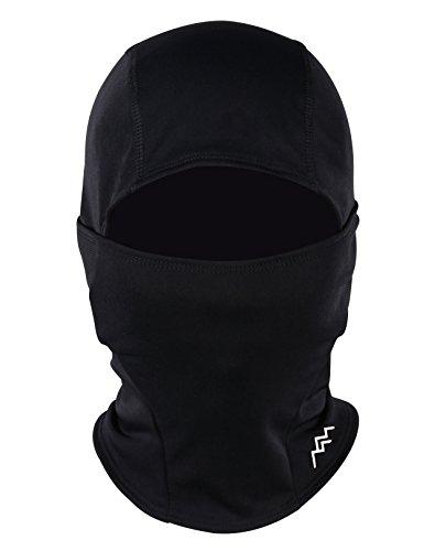 TRAILSIDE SUPPLY CO. Pasamontañas resistente al viento, máscara de esquí para clima frío, para motocicleta, con capucha, color negro