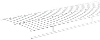 ClosetMaid 1361 Shelf and Rod Wire Shelf, 6-Feet X 12-Inch, White