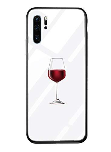 Alsoar - Carcasa para Huawei P Smart/Honor 9 Lite, Ultra Fina, Carcasa para Huawei P Smart/Honor 9 Lite, de Cristal Templado antiarañazos + Marco de Silicona Suave antigolpes